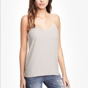 Express Barcelona Reversible Ivory/Taupe Cami XS
